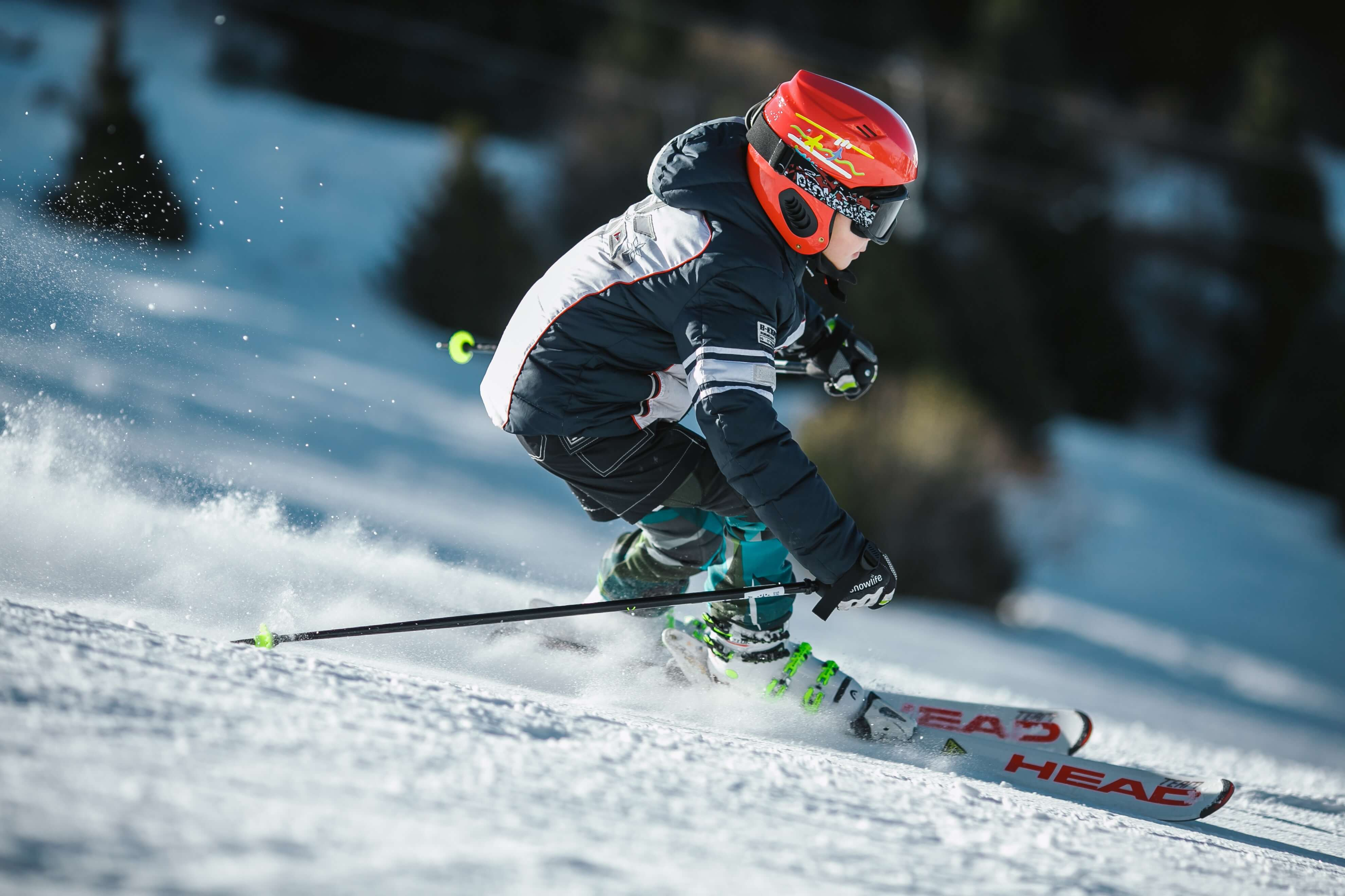 System wymiany nart dziecięcych